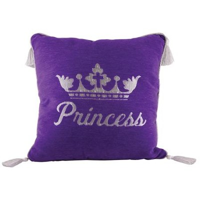 Princess Pillow, Large, Purple  -