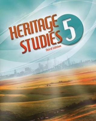 BJU Heritage Studies Grade 5 Student Text, Third Edition    -