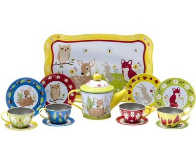Forest Friends Tea Time Set, 15 pieces  -