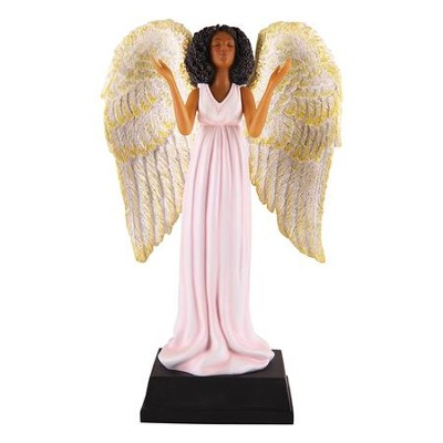 Pink Angel Figurine  -