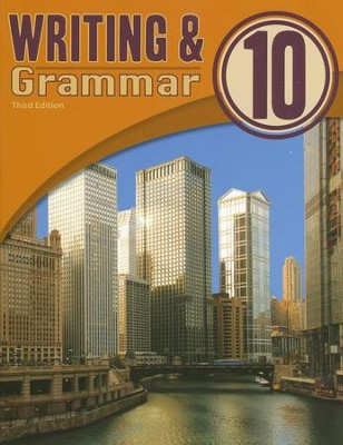 BJU Writing & Grammar Grade 10 Student Worktext, Third Edition   -