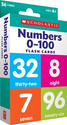 Flash Cards: Numbers 0 - 100  -