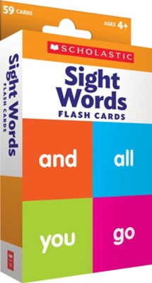 Flash Cards: Sight Words  -