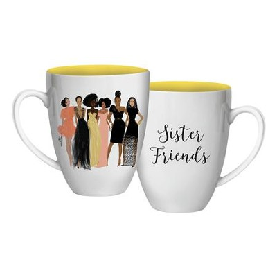 Sister Friends Mug  -     By: Nicholle Kobi