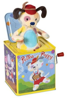 Polka Puppy, Jack In the Box  -
