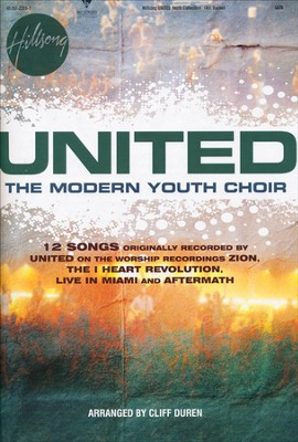 Hillsong UNITED The Modern Youth Choir Collection (Choral Book)  -