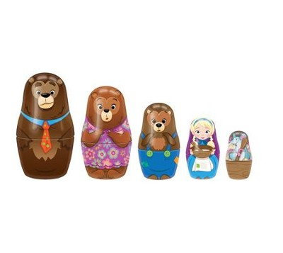 Goldilocks Nesting Dolls  -