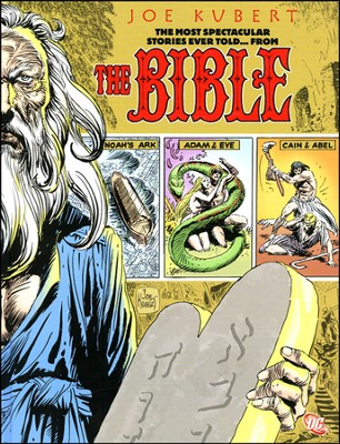 The Bible (Stories from the Bible) Graphic Novel   -     By: Sheldon Mayer     Illustrated By: Joe Kubert
