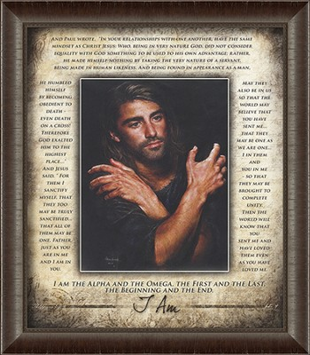 Prince of Peace, I Am Framed Art  -     By: Akiane Kramarik