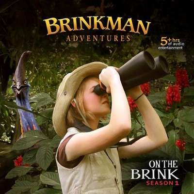 Brinkman Adventures Season 1: On the Brink (12 Episodes on 4  Audio CDs)    -