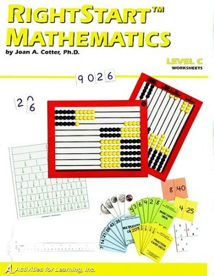 RightStart Mathematics Level C Worksheets, 1st Edition   -     By: Joan A. Cotter Ph.D.