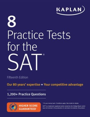 8 Practice Tests for the SAT  -