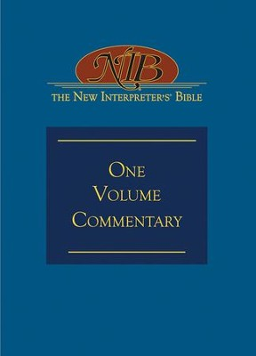 New Interpreter's Bible One Volume Commentary - eBook  -     Edited By: David L. Petersen, Beverly Roberts Gaventa     By: Edited by David L. Petersen & Beverly Roberts Gaventa