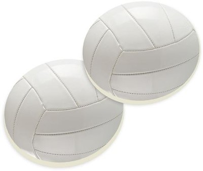 Volley Ball Car Coasters, Set of 2  -