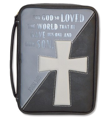 For God So Loved the World, Bible Cover, Large  -