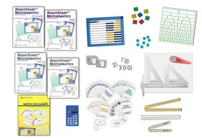 Rightstart Mathematics Level E Starter Kit, 1st Edition   -