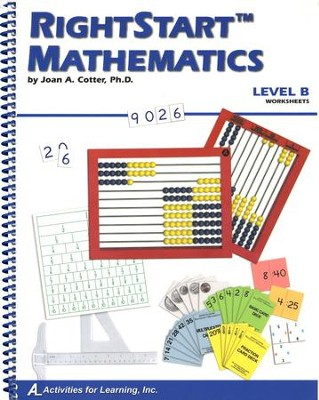 Rightstart Mathematics Level B Worksheets, 1st Edition   -