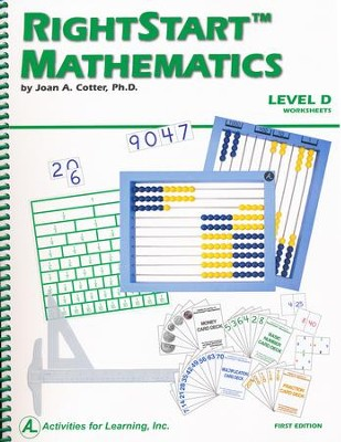 Rightstart Mathematics Level D Worksheets, 1st Edition   -