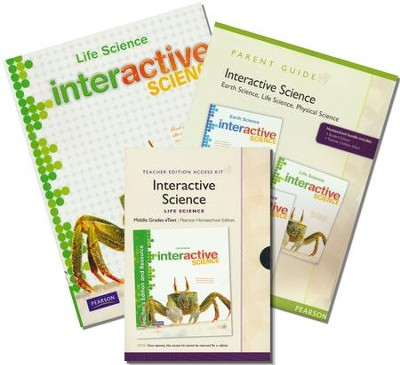 Interactive Science: Life Science (Grade 7) Homeschool Bundle  -