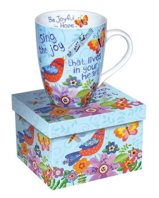 Sing the Joy That Lives In Your Heart, Bird Mug  -