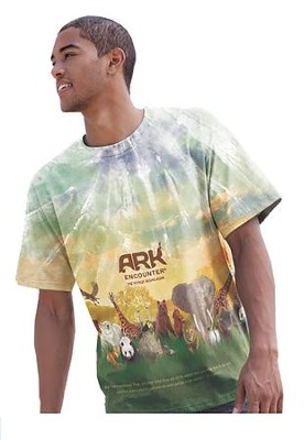 Ark Encounter Shirt, Tan, Small  -