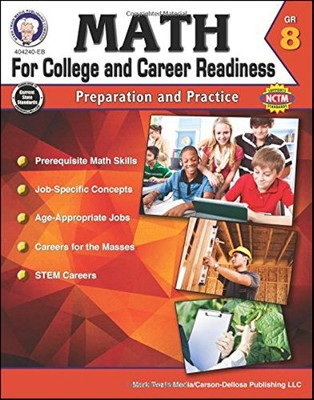 Mark Twain Math for College and Career Readiness, Grade 8  -