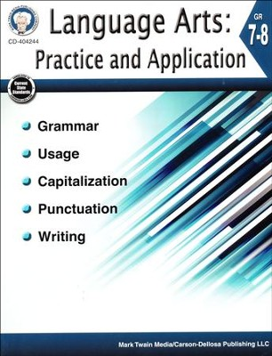 Mark Twain Language Arts: Practice and Application, Grades 7-8  -