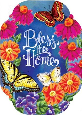Bless This Home, Door Decor Hanger   -