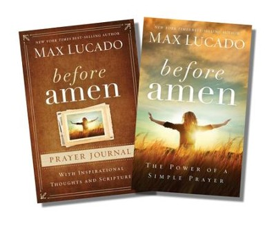 Before Amen (Book and Journal)   -     By: Max Lucado