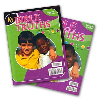 BJU Bible Truths K5 Homeschool Kit, Updated Second Edition   -
