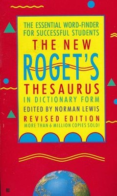 The New Roget's Thesaurus in Dictionary Form   -     By: Peter Roget, Paul Roget