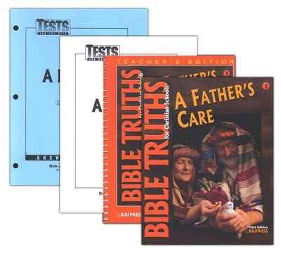 BJU Bible Truths Grade 1 Homeschool Kit   -