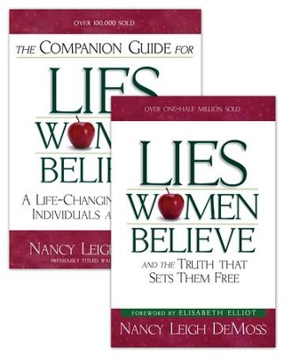 Lies Women Believe/Companion Guide for Lies Women Believe Set - eBook  -     By: Nancy Leigh DeMoss