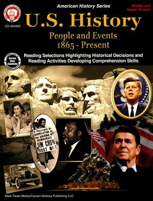 U.S. History: People and Events (1865-Present)--Middle/Upper Grades, Second Edition  -