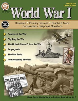 World War 1, Middle/Upper Grades   -