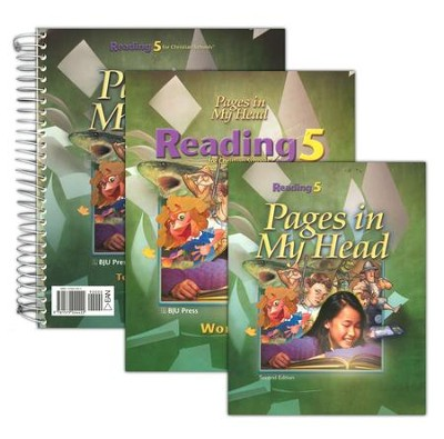 BJU Reading Grade 5 Homeschool Kit   -