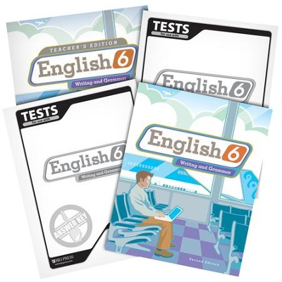 BJU English Grade 6 Homeschool Kit (Second Edition)    -