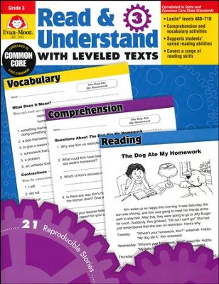 Read & Understand with Leveled Texts, Grade 3  -