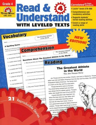 Read & Understand with Leveled Texts, Grade 4   -