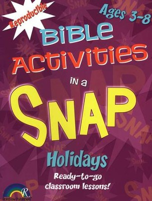 Bible Activities in a Snap: Holidays, Ages 3-8  -     By: Barbara Rodgers
