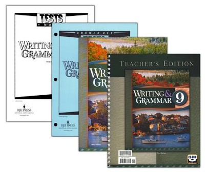 BJU Writing & Grammar Grade 9 Homeschool Kit, 3rd Edition   -