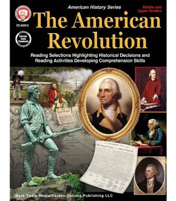American Revolution, Grades 5 - 12  -     By: George Lee