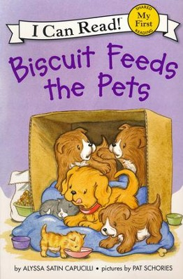 Biscuit Feeds the Pets, softcover  -     By: Alyssa Satin Capucilli