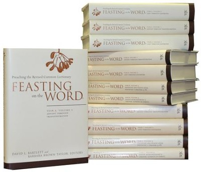 Feasting on the Word, Complete 12-Volume Set  -     Edited By: David L. Bartlett, Barbara Brown Taylor     By: Edited by David L. Bartlett & Barbara Brown Taylor