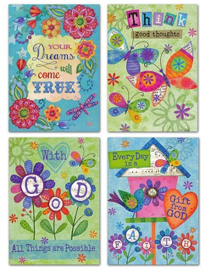 Encouragement, Grow Peace Bird Cards, KJV, Box of 12  -