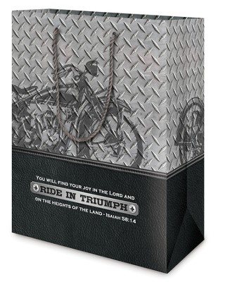 Ride In Triumph Gift Bag, Medium  -