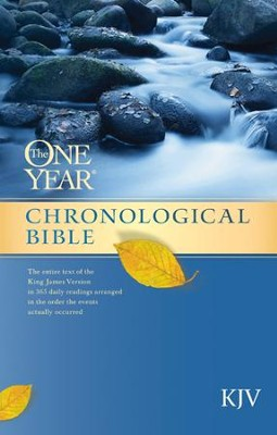 The One Year Chronological Bible KJV - eBook  -