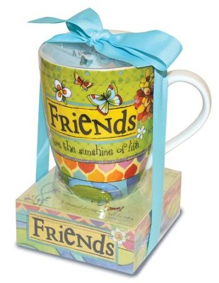 Friends Are the Sunshine Of Life Mug and Notepad  -