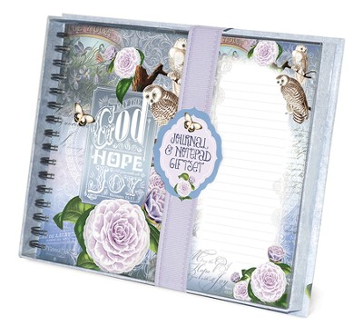 God Of Hope, Owl, Journal and List pad Set  -