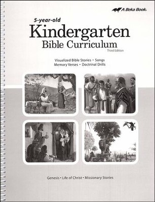 K5 Bible Curriculum (Lesson Plans)   -